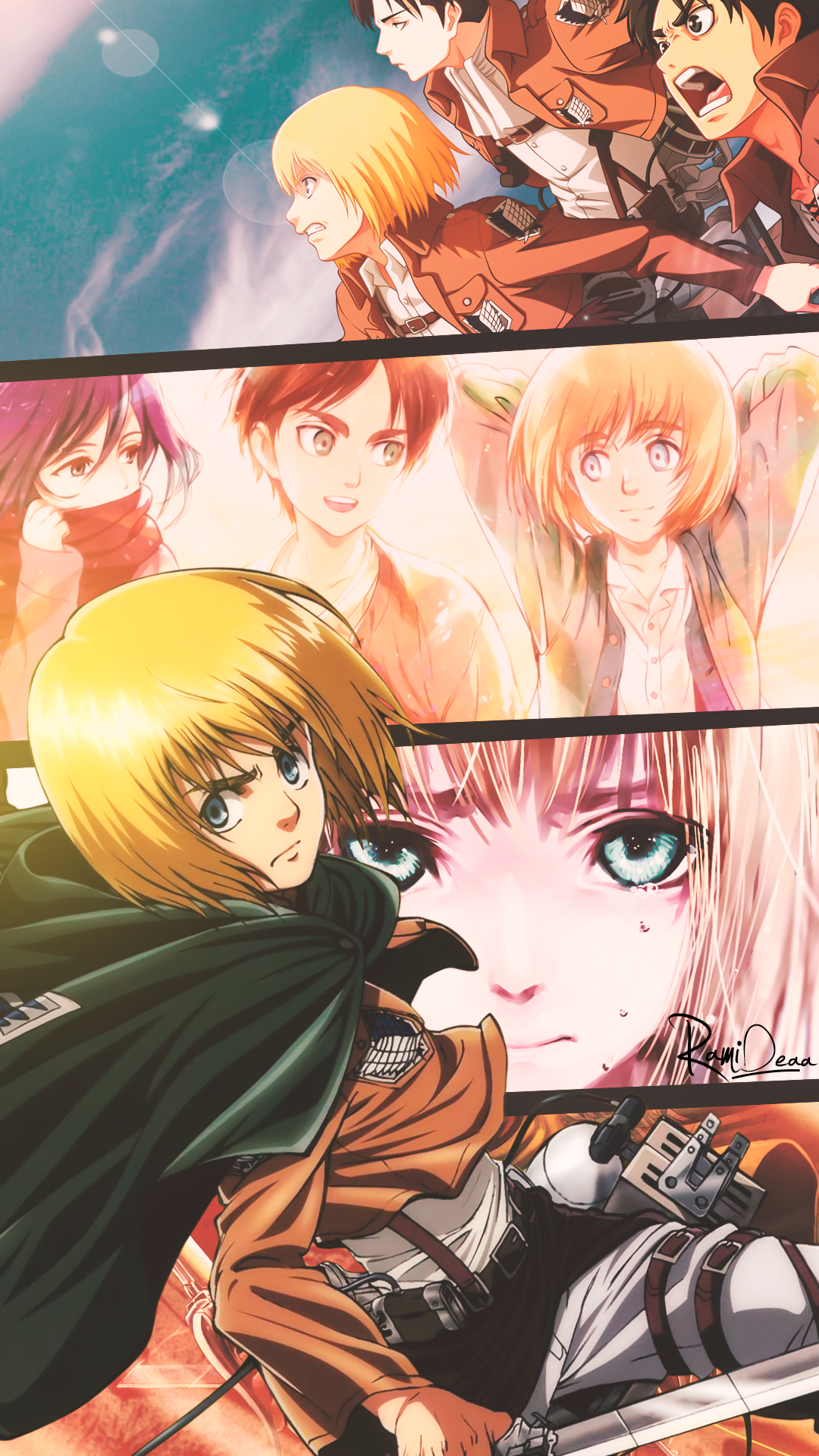 Armin Arlert Attack On Titan Anime Attack On Titan Art Anime Wallpaper
