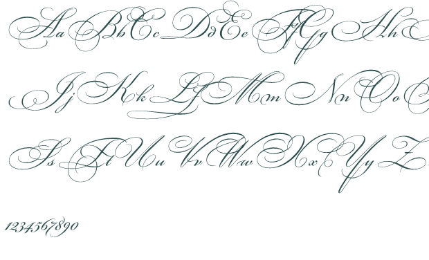 Fancy Cursive Letters Calligraphy Tattoo Fonts Fancy Cursive Cursive Fonts Alphabet