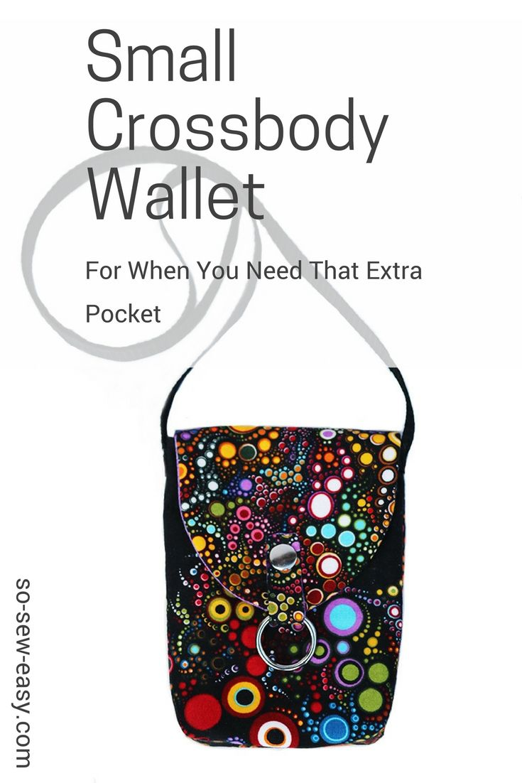 Small Crossbody Wallet - When You Need An Extra Pocket | Coser a ...