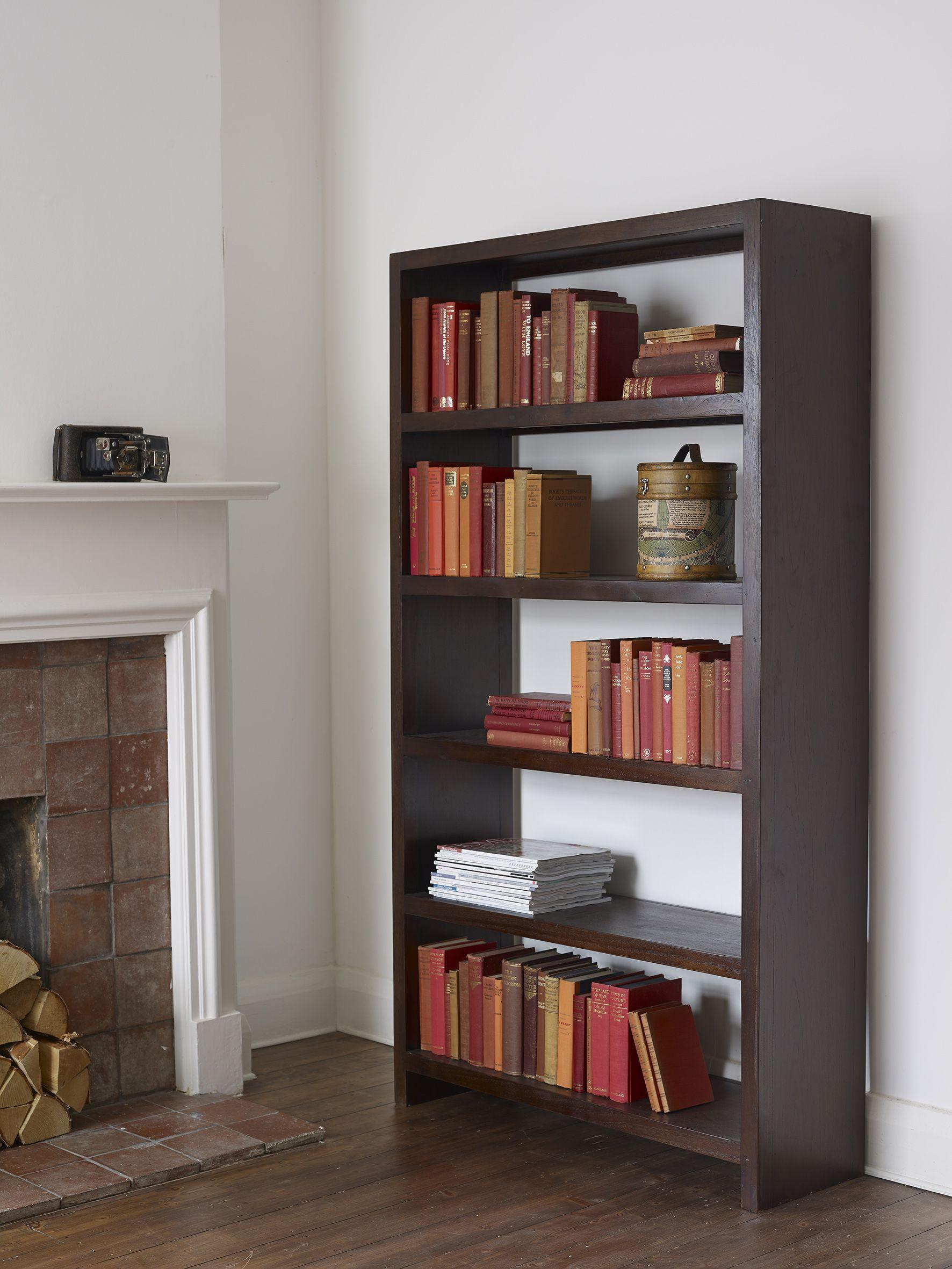 Seba Dark Brown Large Bookcase Large Bookcase Bookcase Small