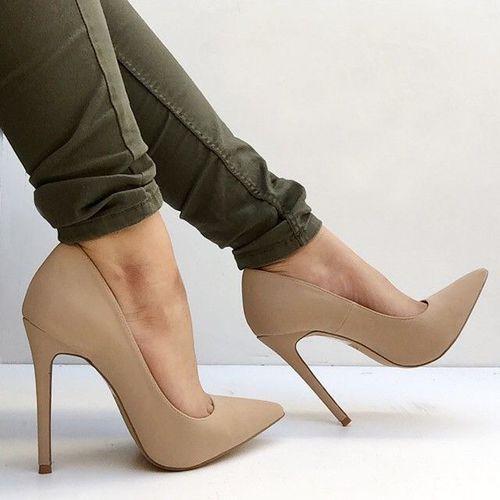 Nude Shoes High Heels