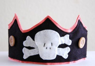 adorable pirate crown