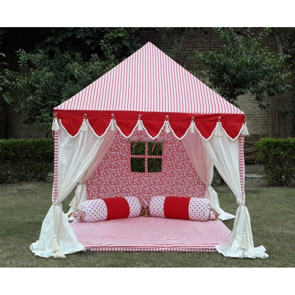 Indian Tents by Sangeeta International Gifting Ideas for Kids on Christmas  sc 1 st  Pinterest & Package Includes Tent Fabric Breathable Cotton Fabric Cover ...