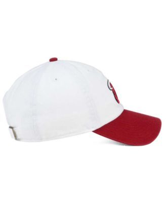 free shipping e5b2f 29b21  47 Brand Miami Heat 2-Tone Clean Up Cap - White Adjustable.
