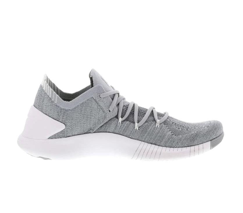 103767ea7993 Nike Free TR Flyknit 3 Womens HIIT Cross Training Shoes Wolf Grey White   Nike  CrossTrainingShoes