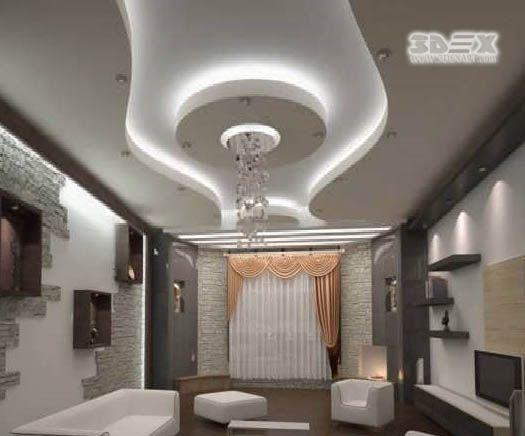 Latest POP design for false ceiling for living room hall ...