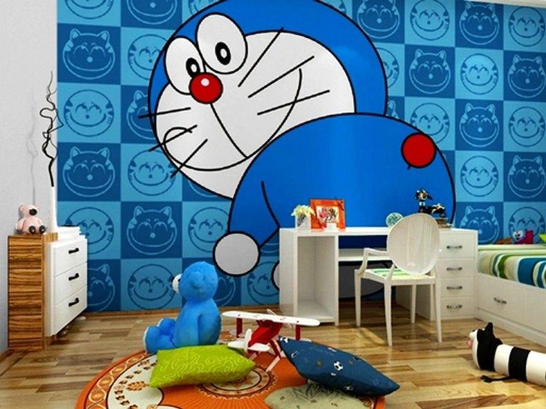 Wallpaper Dinding Doraemon Besar 7 Gambar Wallpaper Dinding Kamar