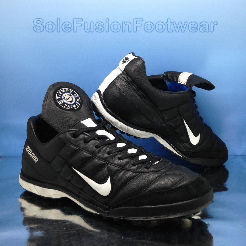 e2aab253a Nike mens Tiempo Premier Football Trainers 8.5 Zoom Air Turf Soccer Shoes  9.5 43