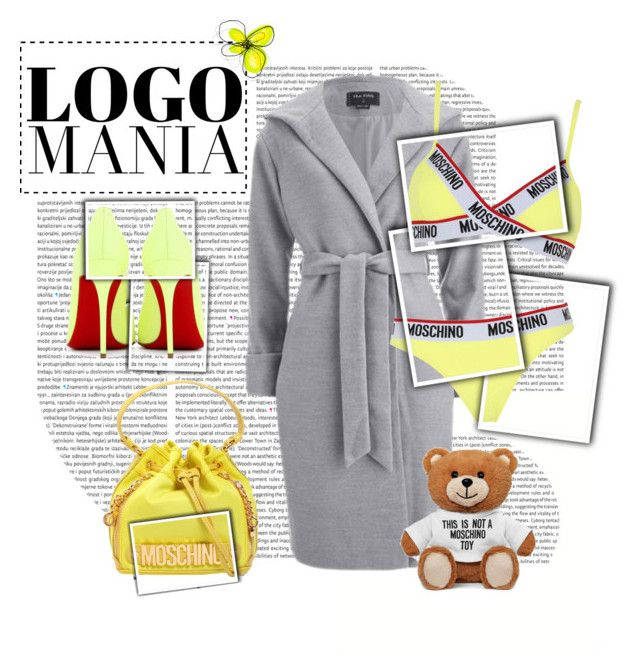 """""""Senza titolo #561"""" by francescar ❤ liked on Polyvore featuring moda, Moschino i Christian Louboutin"""