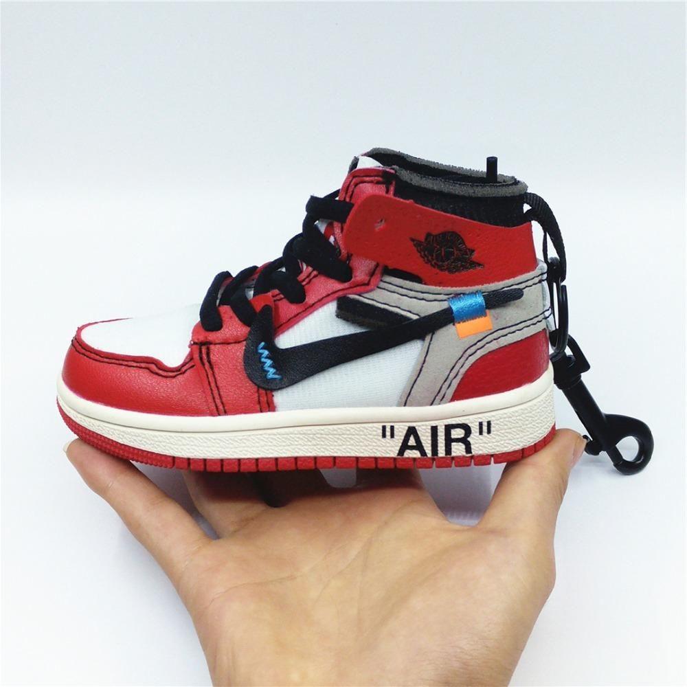 Mini Sneaker Air Jordan 1 x Off White Chicago | Sneakers