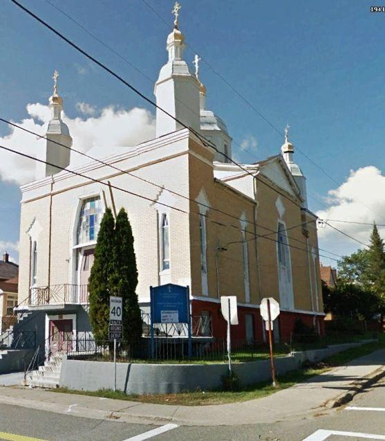 St. Volododymyr's Ukrainian Orthodox Church, Baker St., Sudbury, Ontario Canada