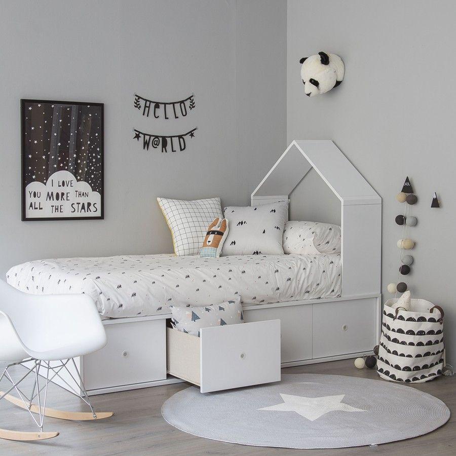 Newstar alfombra gris | Kinderzimmer