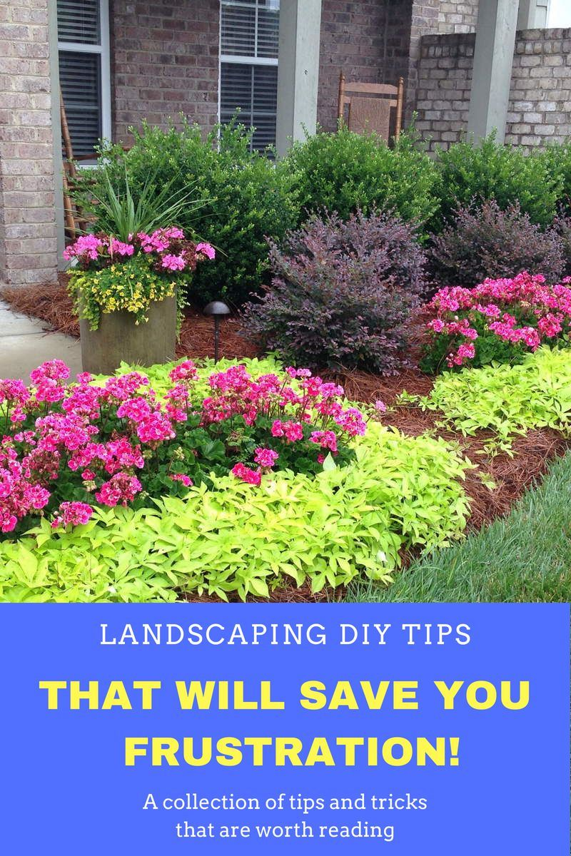 landscaping is a great way to improve the look of any area