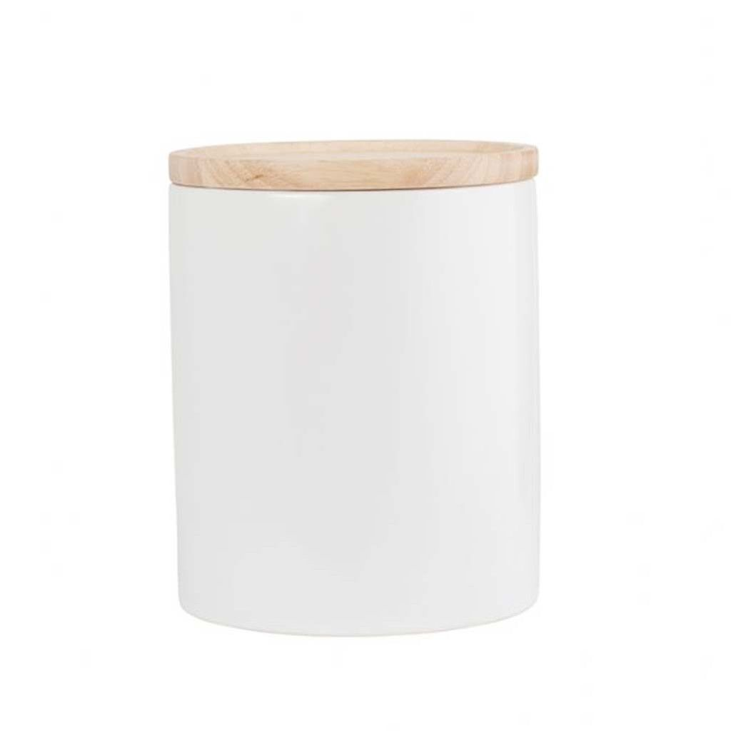 Satin White Kitchen Canister Xl White Kitchen Canisters Kitchen Canisters White Kitchen