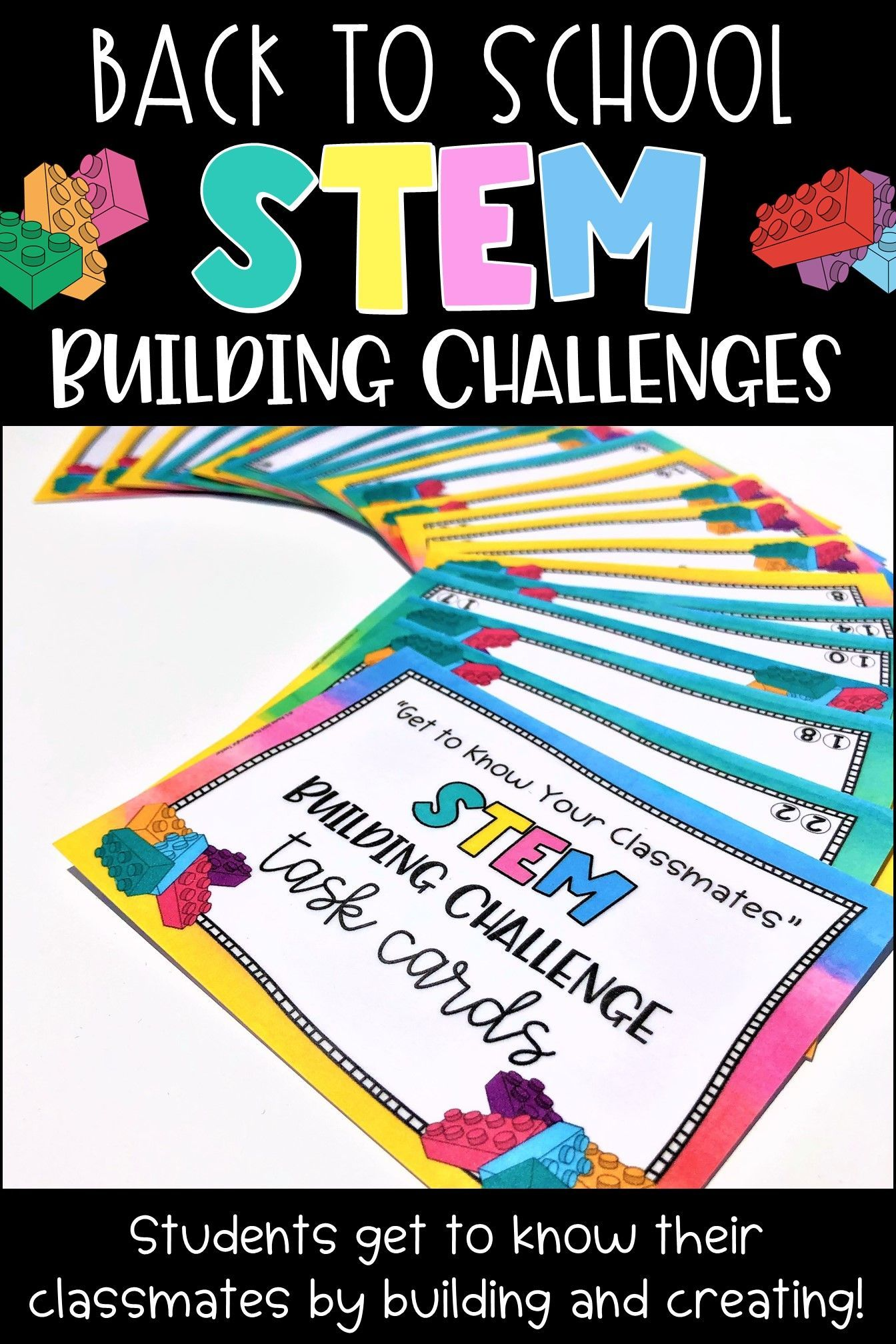 Get To Know Your Classmates Stem Or Steam Building