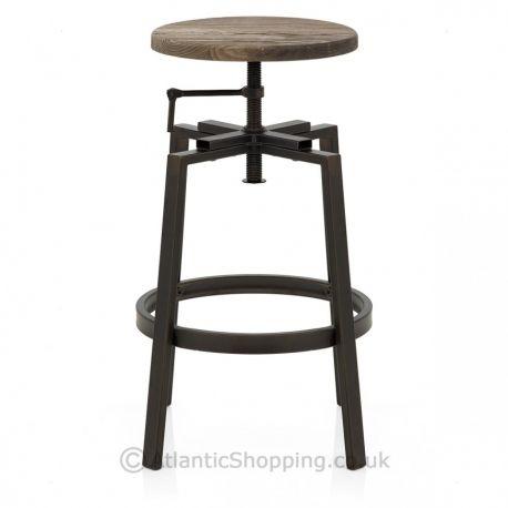 tabouret de bar chaise de bar tabouret de bar industriel tabouret metal - Tabouret Metal Vintage