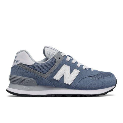 574 Core Plus Women's 574 Shoes BlueGrey (WL574CC