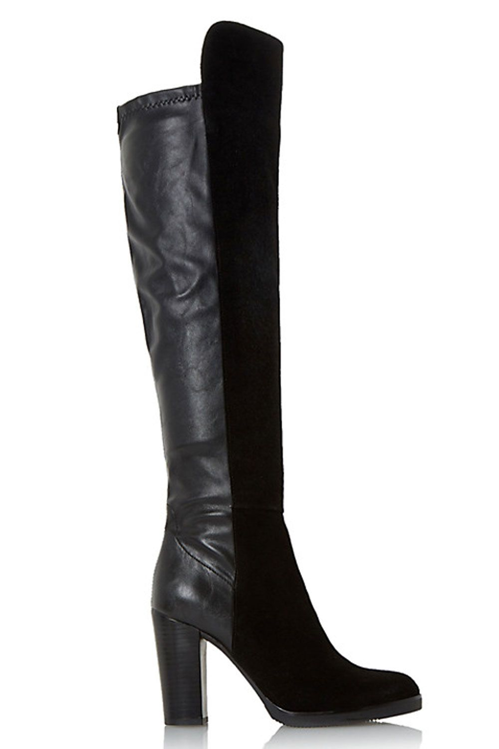 Boots, Knee high boots, Heeled boots