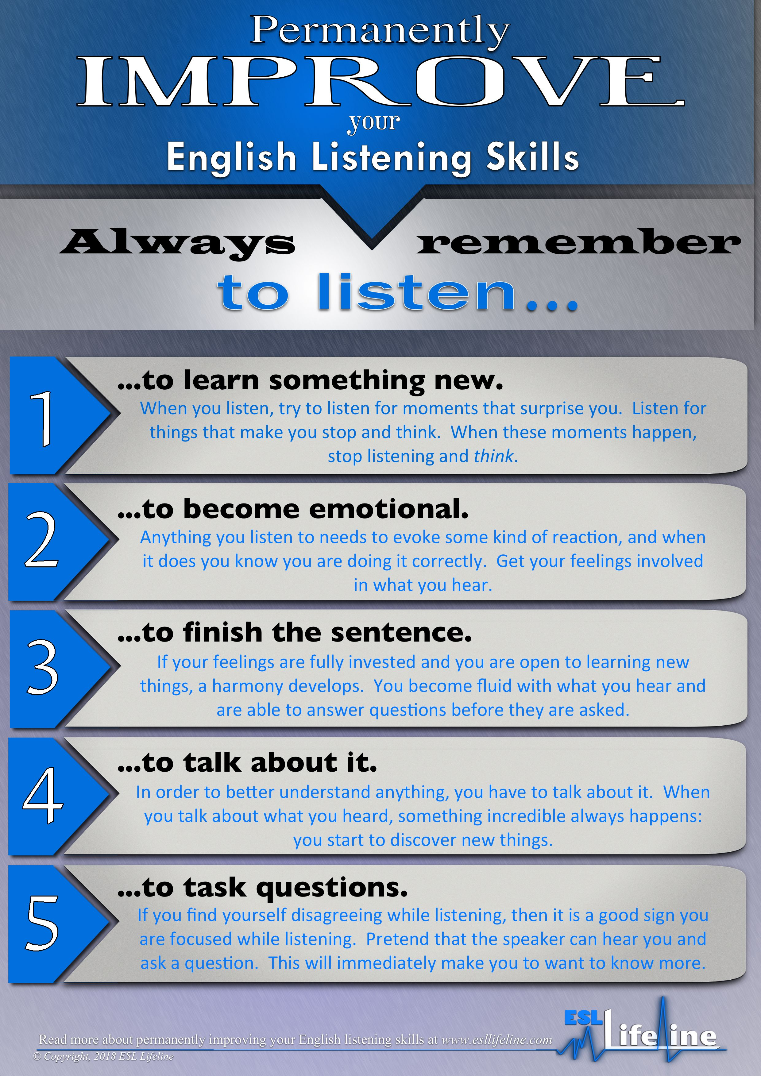 5 simple steps to permanently improving english language