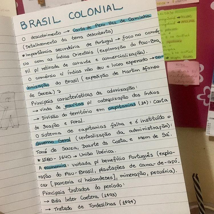 Revisoes Que Eu Fiz Hoje Brasil Colonial E Brasil Imperio