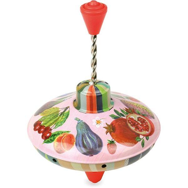 #Tol #fruit - Nathalie Lété - #Vilac #spinningtop  #retro #toys #sint #sinterklaas #littlethingz2