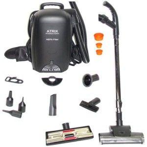 Atrix VACBP1 Hepa Backpack Vacuum #VacuumCleaner