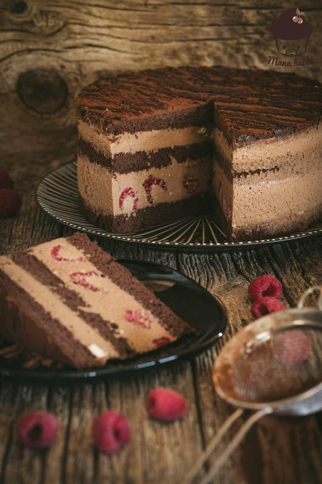 Mousse au Chocolaté Torte - Mann backt #kuchenundtorten