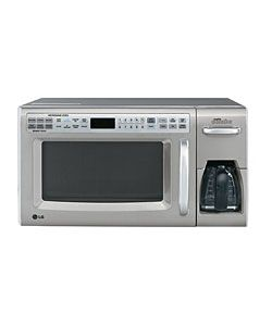 Add Convenience To Your Home With This Combination Microwave And Coffee Maker Lg
