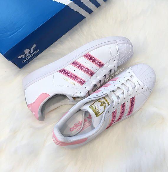 huge discount 4a95c 104fe Superstar de Adidas Original hecho con cristales de SWAROVSKI®