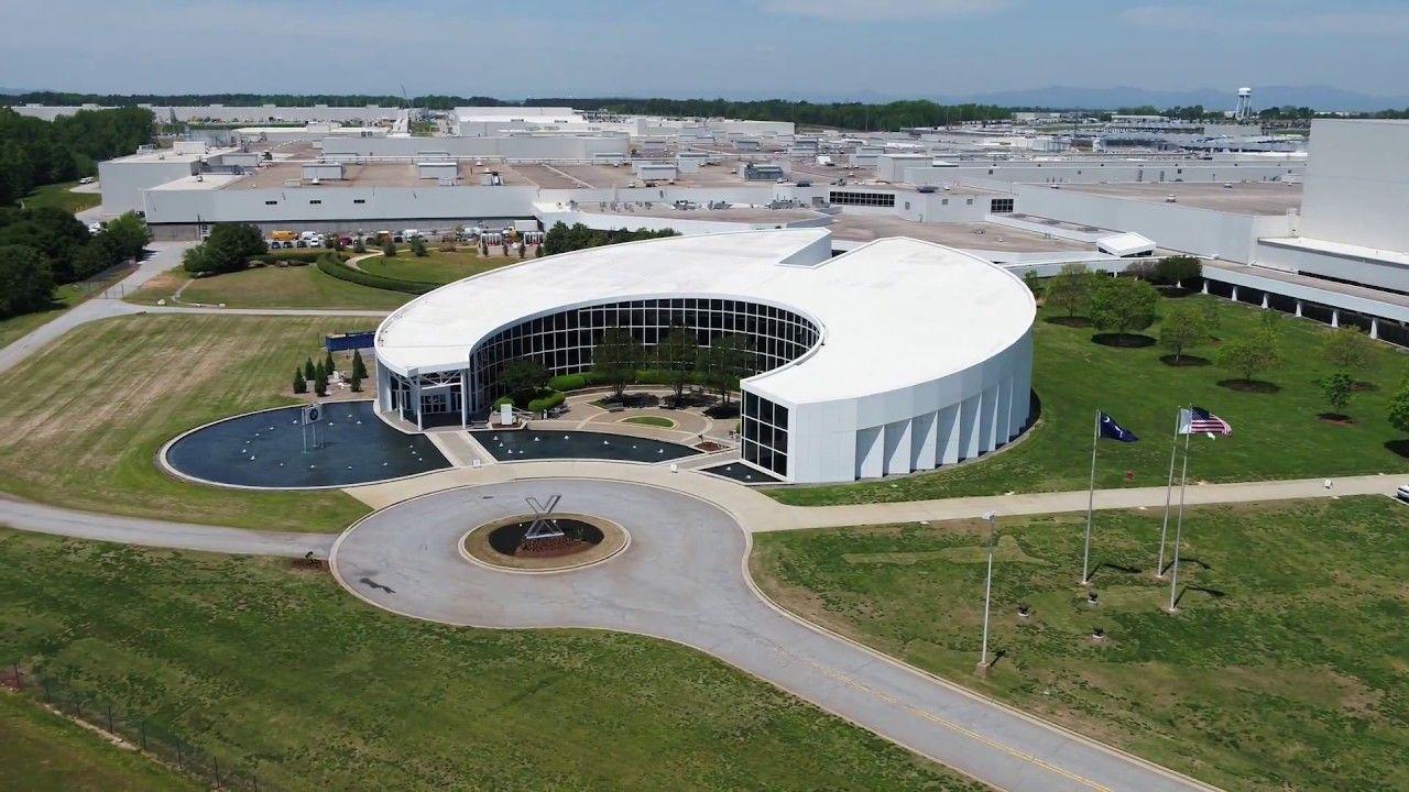 BMW Plant Spartanburg >> Bmw G02 X4 Sac Plant Spartanburg Drone Shots Bmw