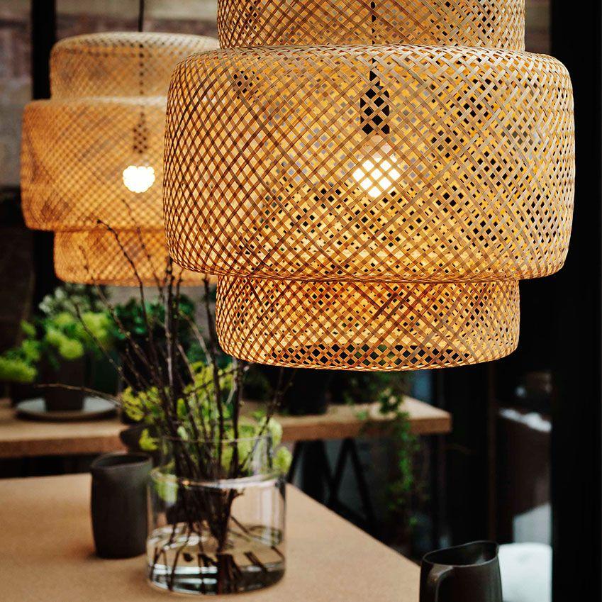 Ikea Wicker Lamp Shades: Ilse Crawford X Ikea Collab