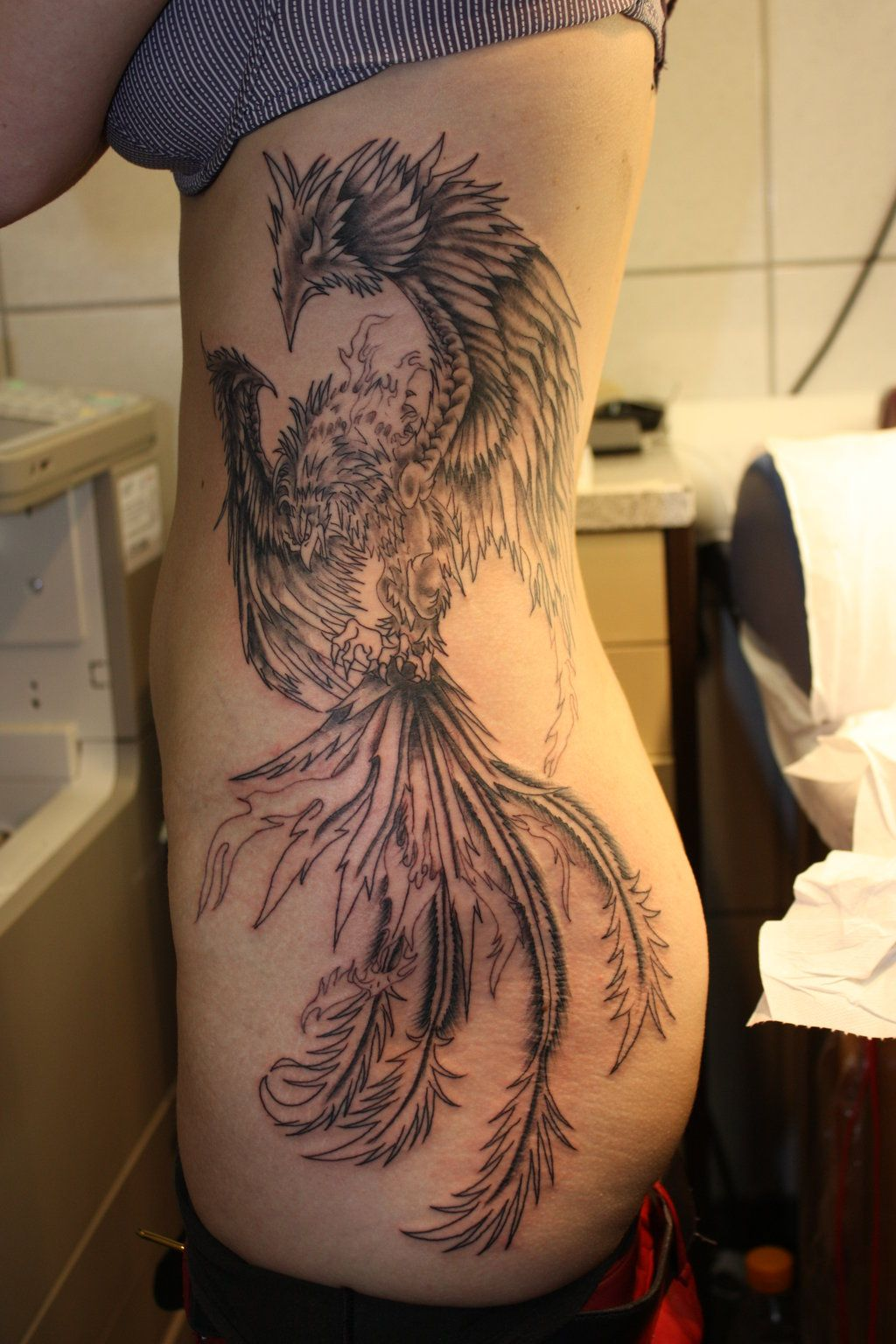 04436467d Phoenix-tattoo 2 by fortuna15.deviantart.com on @DeviantArt ...