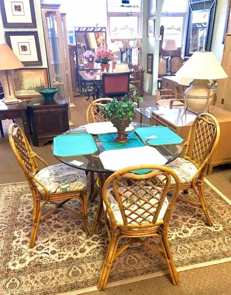 Wood Tropical Dining Settable And Four Chiars  Dining Room Sets Interesting Tropical Dining Room Chairs Design Ideas