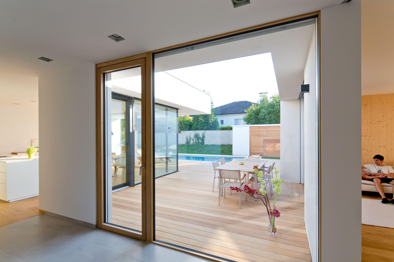 Moderner #Bungalow mit #Atrium - Innen und Aussen verschmelzen ...