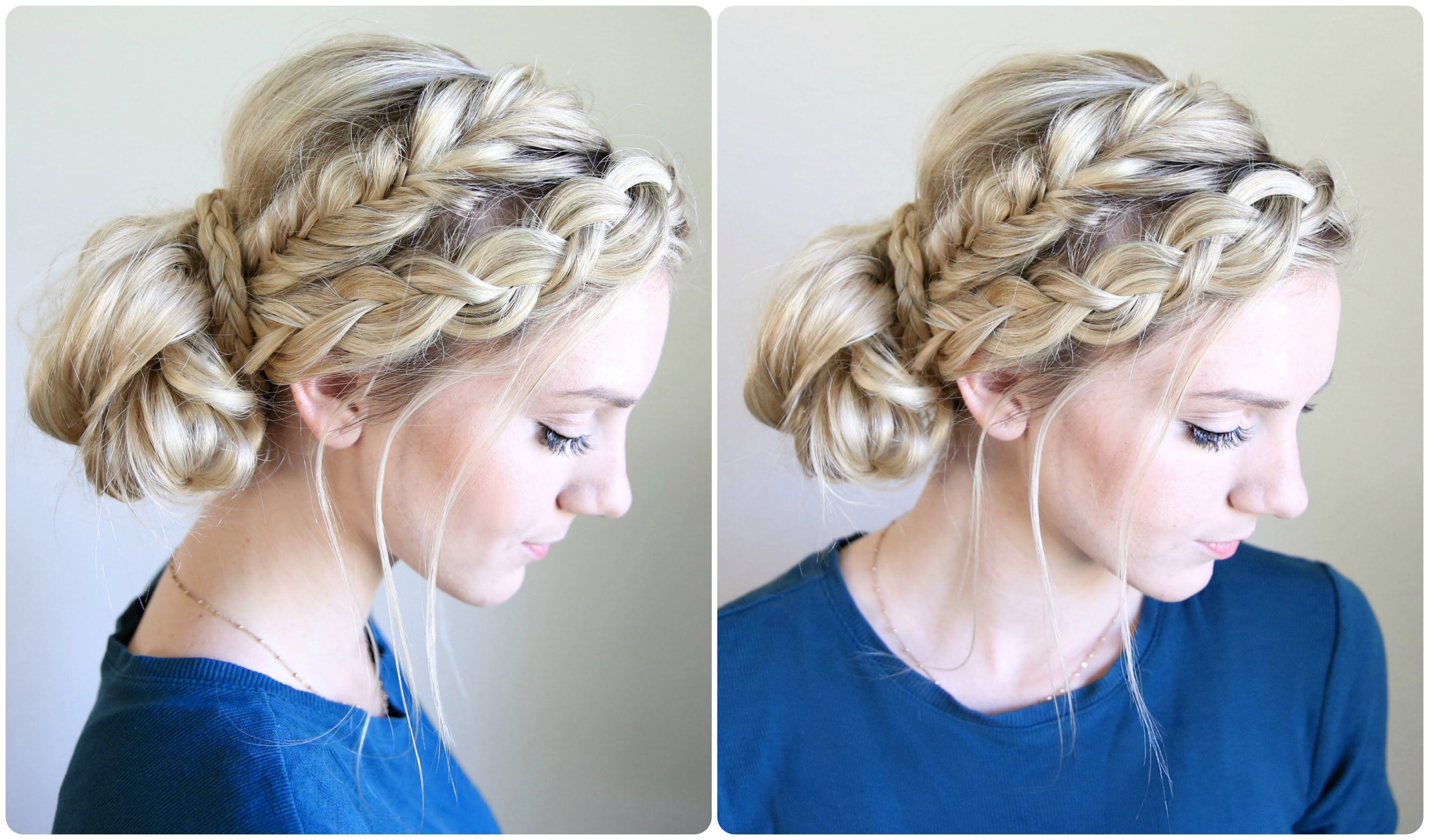 Mixed Braid Bun | Cute Girls Hairstyles | Cute Girls ...
