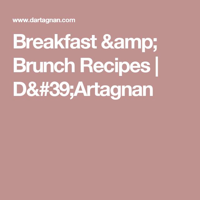Breakfast & Brunch Recipes | D'Artagnan