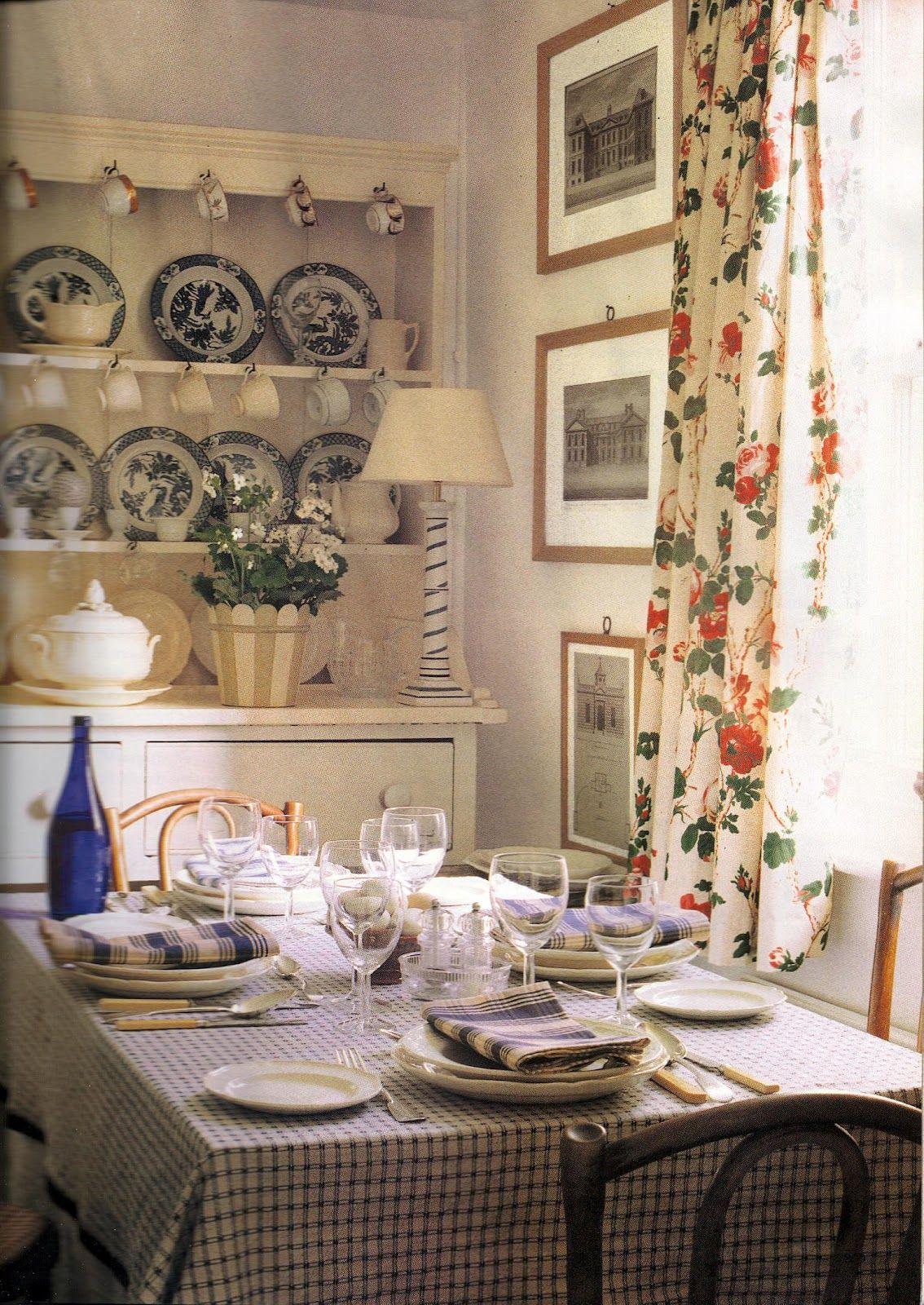 english cottage style kitchen maison de campagne d co. Black Bedroom Furniture Sets. Home Design Ideas