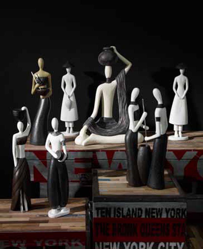 Figuras decorativas coleccion tamisha decoracion beltran for Decoracion del hogar facil y economico