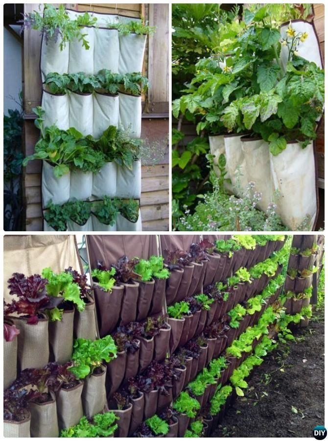 DIY Hanging Shoe Organizer Planter Instructions 20 DIY