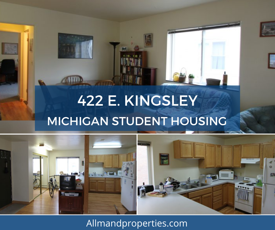 422 E Kingsley St, Ann Arbor, MI Rental Apartments in