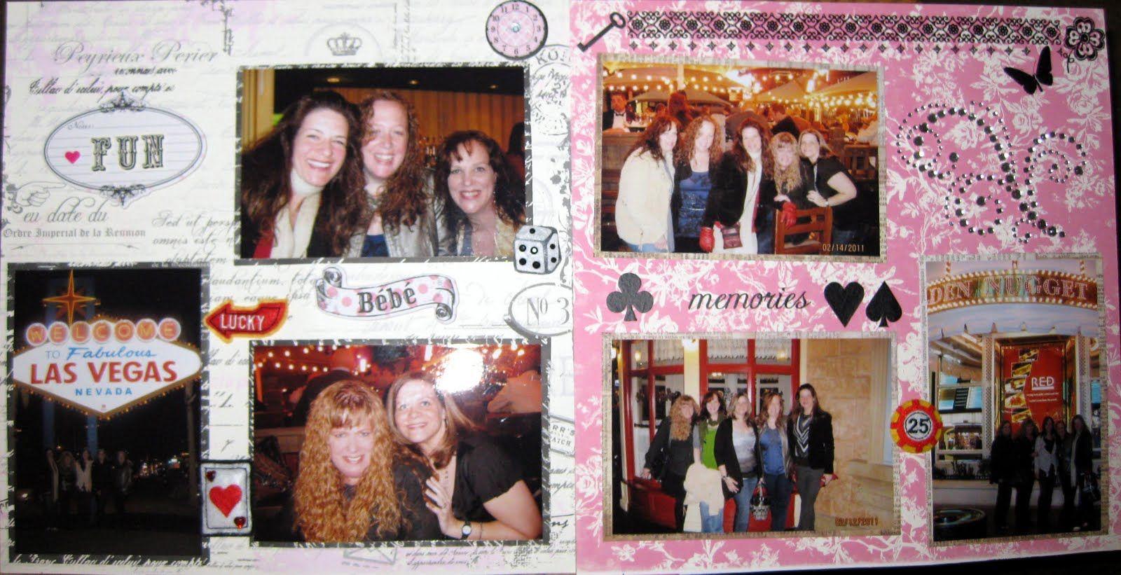 Scrapbook ideas las vegas - Las Vegas Scrapbook Page Ideas Las Vegas