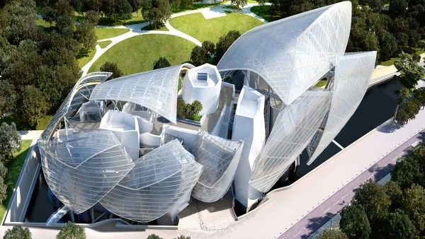 Fondation Louis Vuitton - Architect Frank Gehry