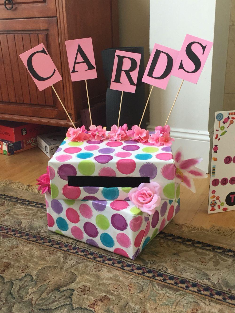 Card box for graduation graduation party pictures diy