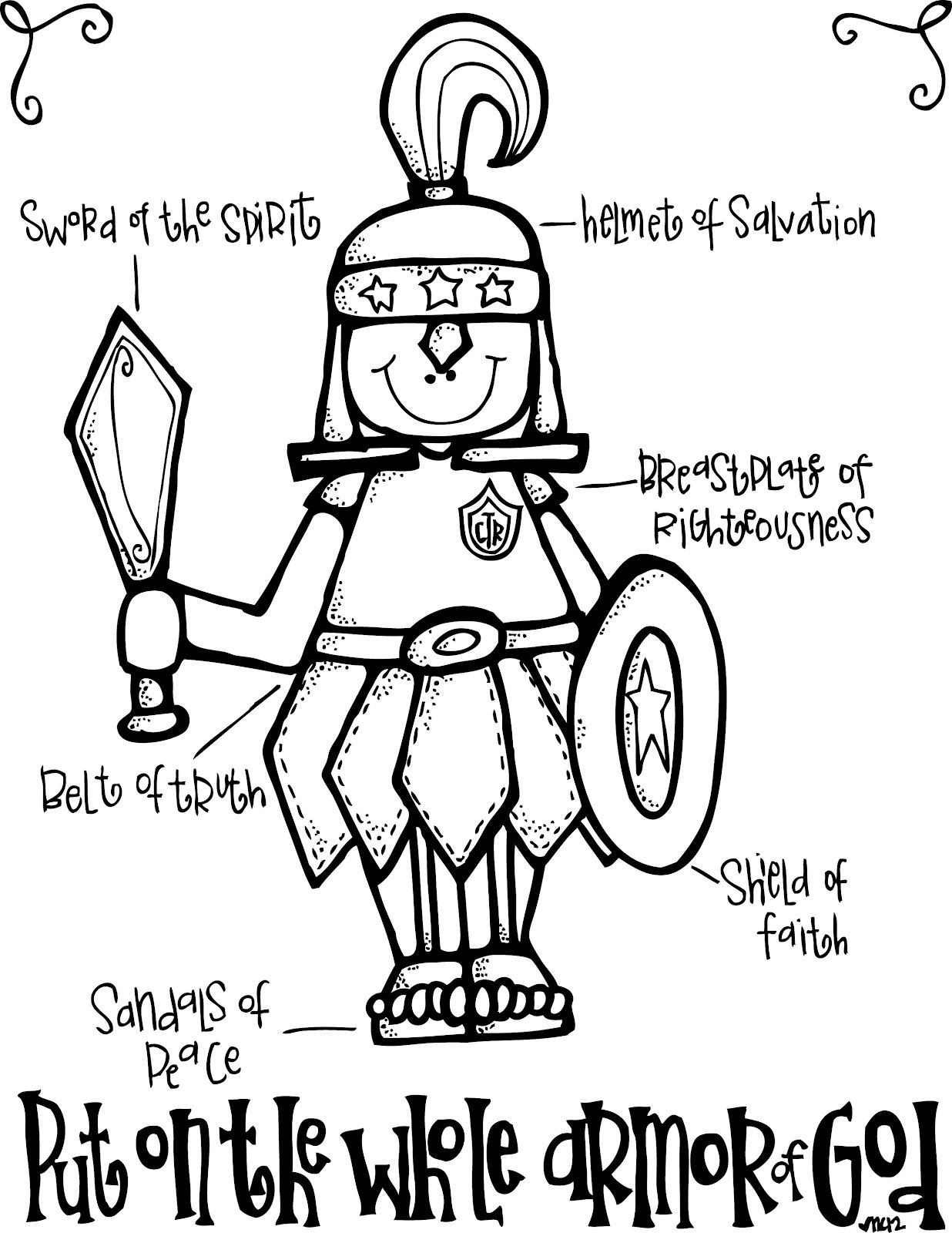 Melonheadz LDS illustrating: The Armor of God | Bible for kids, Armor of  god, Bible lessons