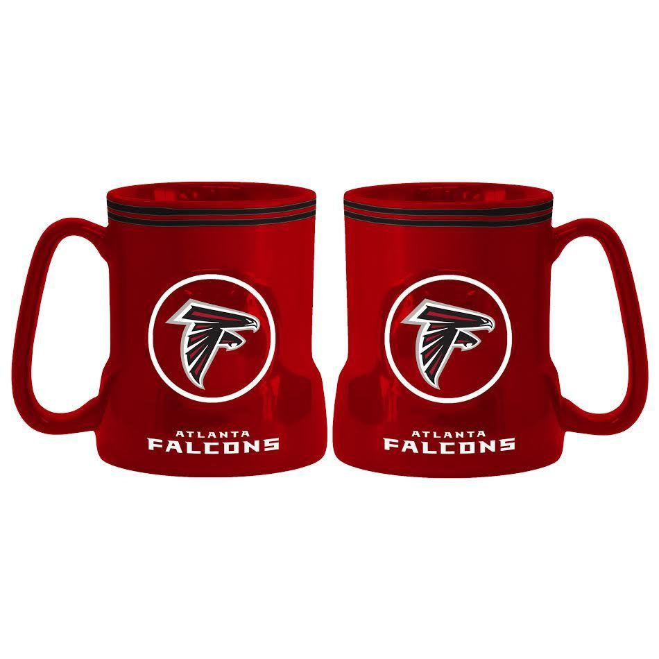 Atlanta Falcons Coffee Mug 18oz Game Time Style Atlanta Falcons Coffee Games Falcons