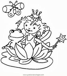 Kleurplaten Prinses Lillifee.Malvorlagen Lillifee Gratis 161 Stempelafdrukjes No 9 Ausmalen