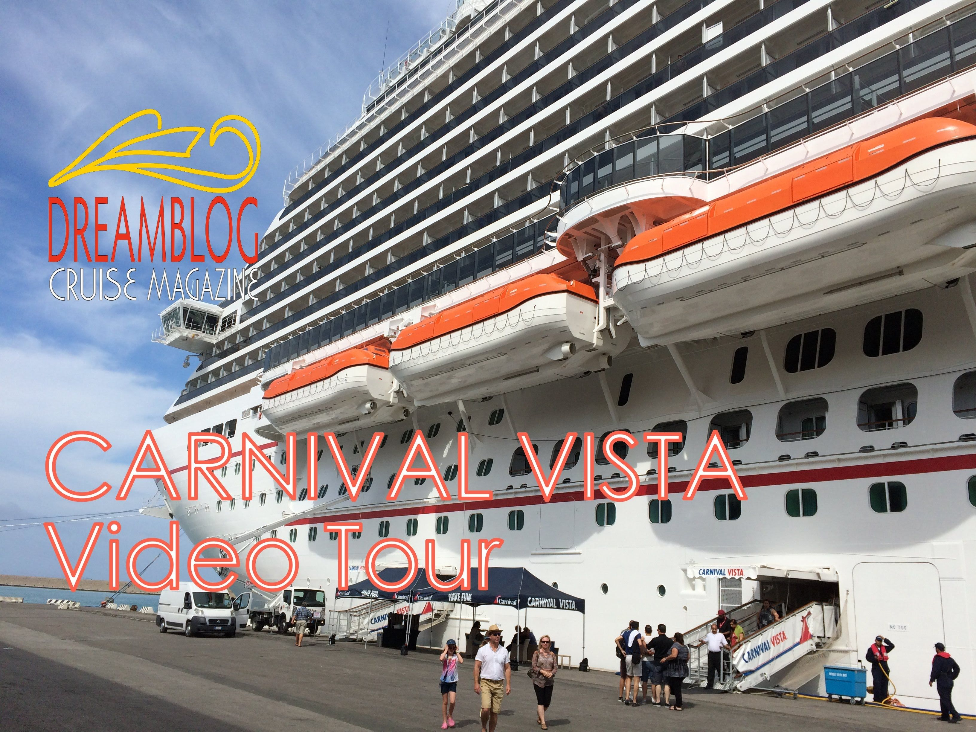 Carnival Vista Video Tour