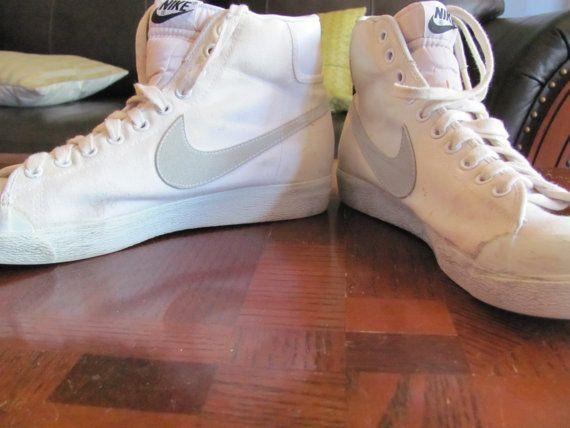 Vintage 1980s White Nike High Top
