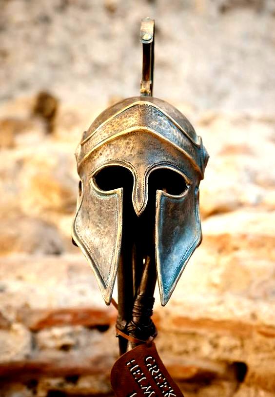 Greek Helmet Ancient Corinthian Helmet Greek Spartan Helmet Etsy Corinthian Helmet Greek Helmet Spartan Helmet