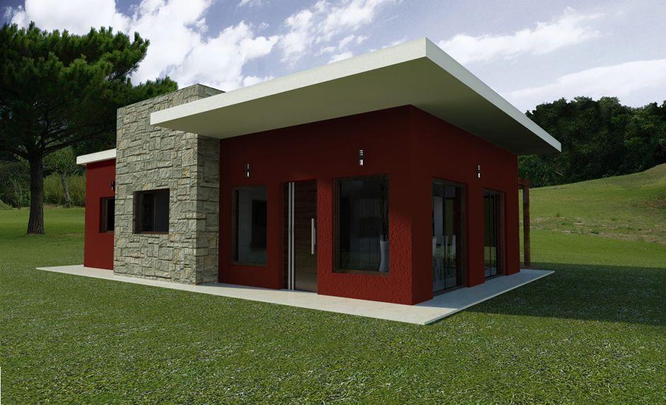 Casas minimalista de un piso pesquisa google casa de for Casa minimalista chica